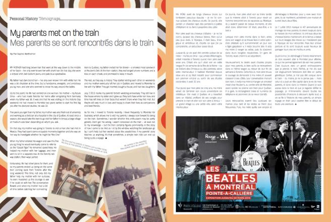 Screen shot magazine